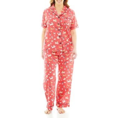 Insomniax Short Sleeve And Pants Cotton Pajama Set Short Sleeve Pajama Set Pajama Set Cotton Pajama Sets