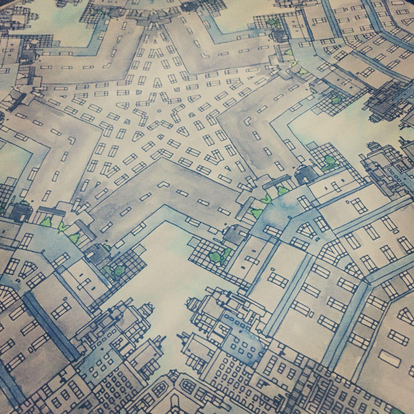 Monday NYC Mandala Book Fantastic Cities By Steve McDonald