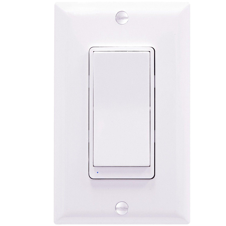 Enerwave Zw3k 3 Way Add On Switch For Light Fan Control To Z Wave Buy Dimmer Zw15s Zw500d Interchangeble Cover Amazoncom