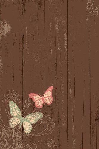 9914 Wood Butterflies Backdrop