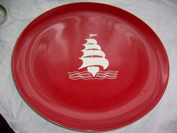 Pyroceram service Tableware by Corning Red by SierrasTreasure $5.00 : pyroceram tableware by corning - pezcame.com