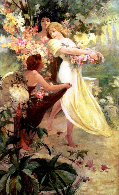 The Spirit of Spring - Alphonse Maria Mucha