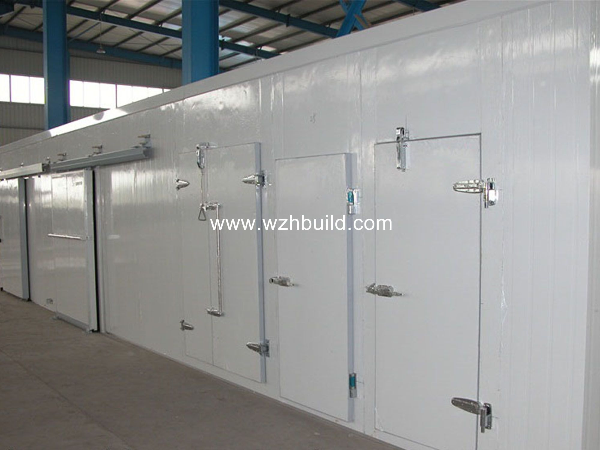 Steel Structure Cold Storage Cold Room Steel Structure Home