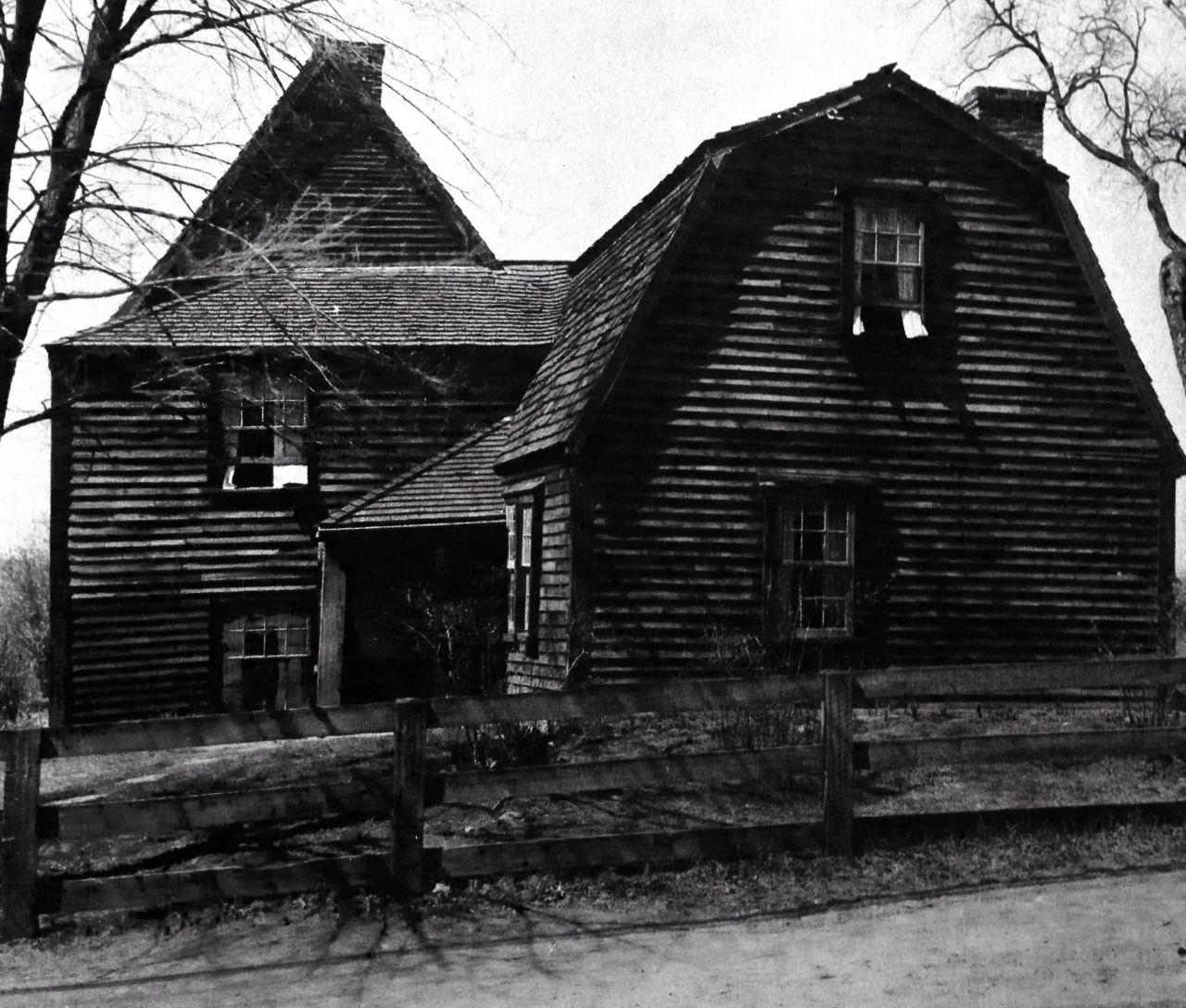 The Fairbanks House…Dedham Massachusetts…mid 17 th century…perhaps the oldest wood frame house in America…