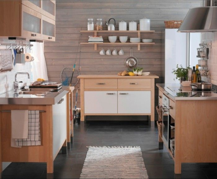 Ikea Kitchen Island Varde varde base unit, from £180, varde wall unit, £140, ikea | hogar