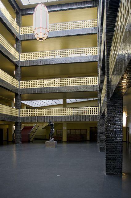 Hans Poelzig Haus Des Rundfunks 4 Space Architecture Architecture Art And Architecture