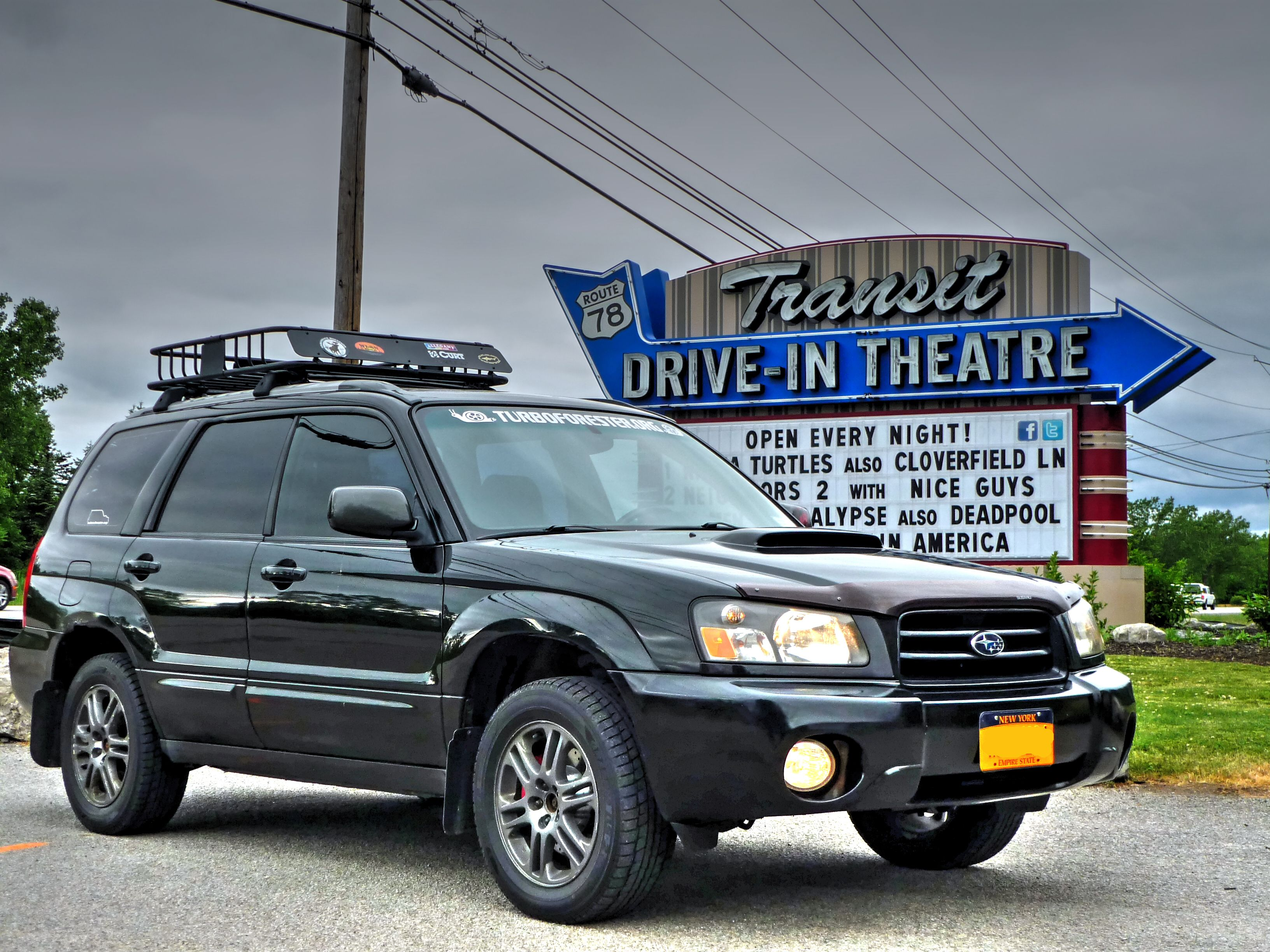 2004 Subaru Forester Fxt At A Drive In Www Turboforester Org And Www Snailmafia Com Turboforester