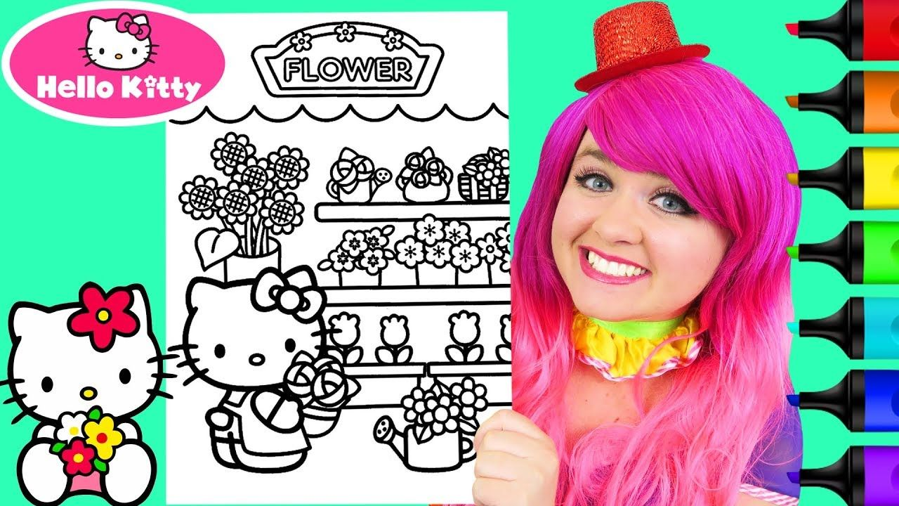 Bake Shop Hello Kitty Coloring Kitty Coloring Hello Kitty Colouring Pages