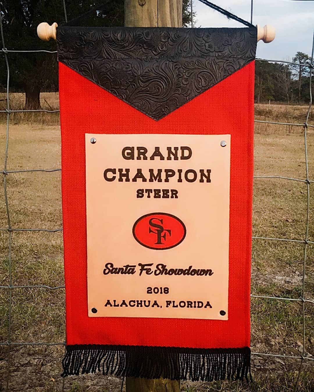 Livestock Show Banners With Leather Banner Custom Design Custom