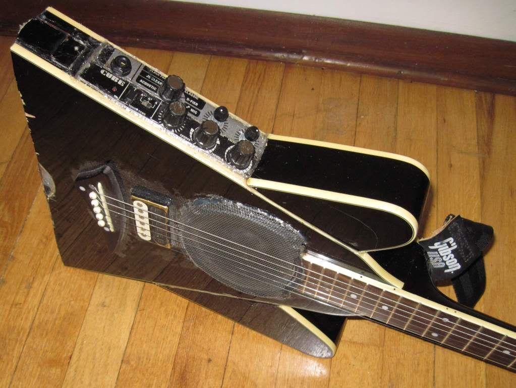Dean V Massacre   DIY Guitar Fail   Pinterest   Dean o\'gorman ...