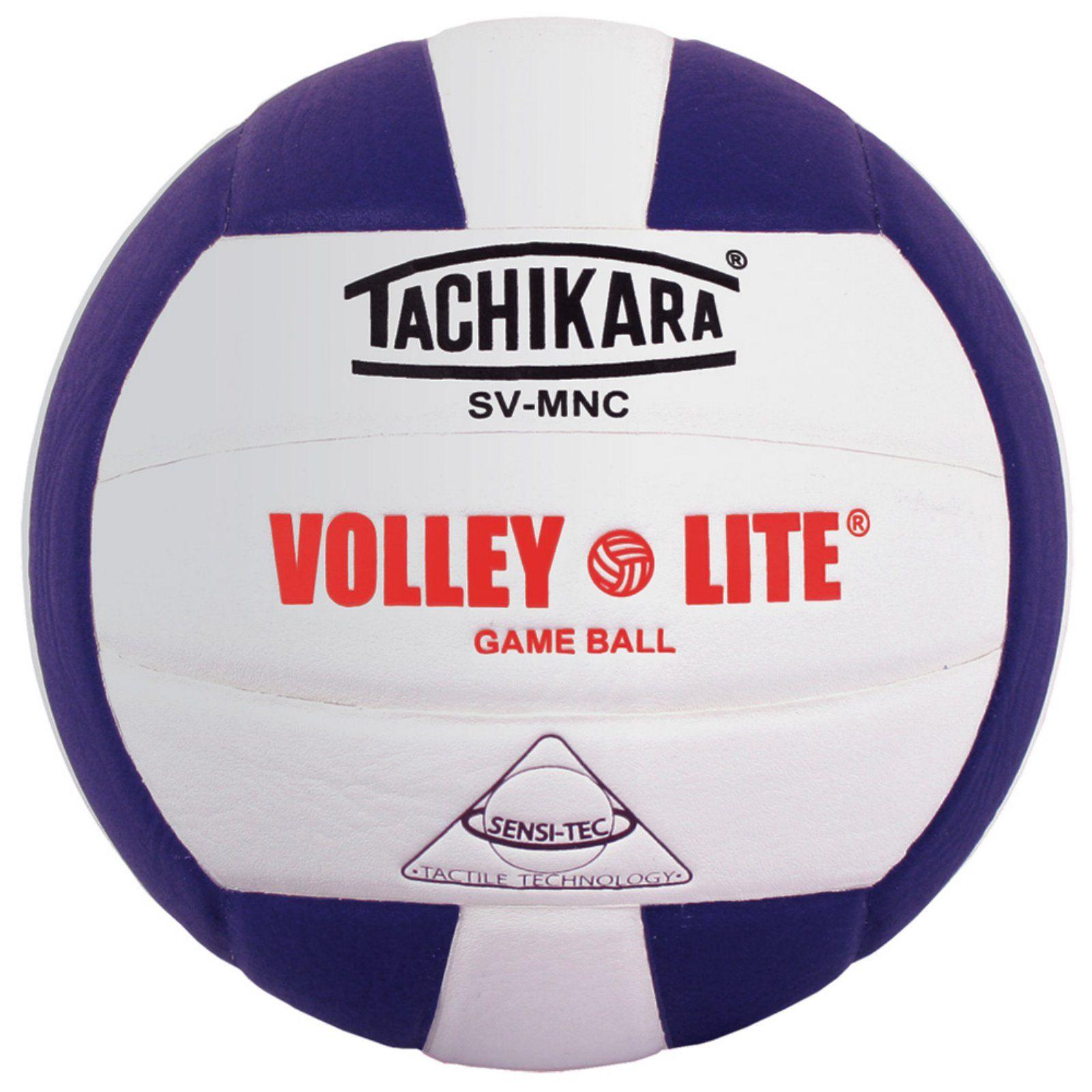 Tachikara Youth Sv Mnc Volley Lite Volleyball Purple White Volleyballs Volley Indoor Volleyball