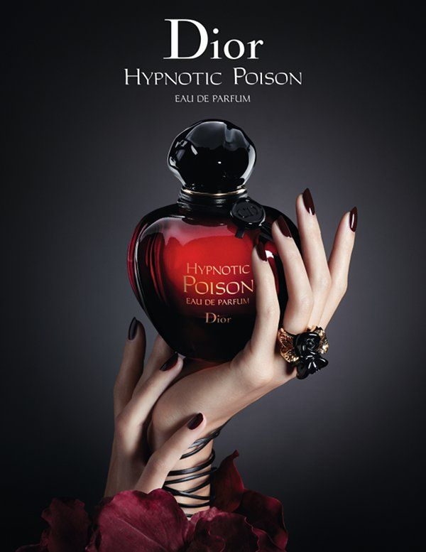 Styling Model Hands Dior Hypnotic Poison Eau De Parfum
