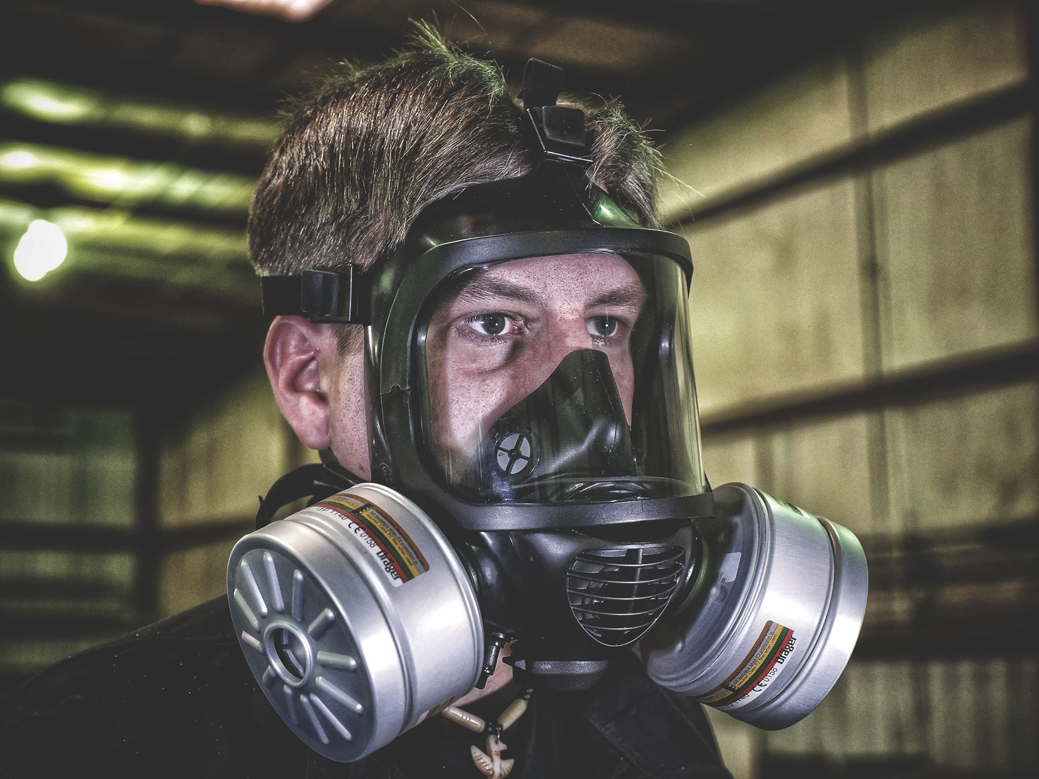 MIRA Safety CM6M Tactical Gas Mask FullFace Respirator