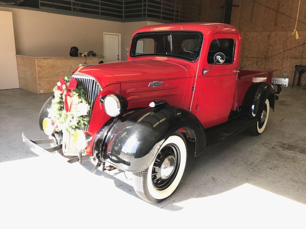 restored 1937 Chevrolet 1/2 ton pickup vintage   Vintage trucks for ...