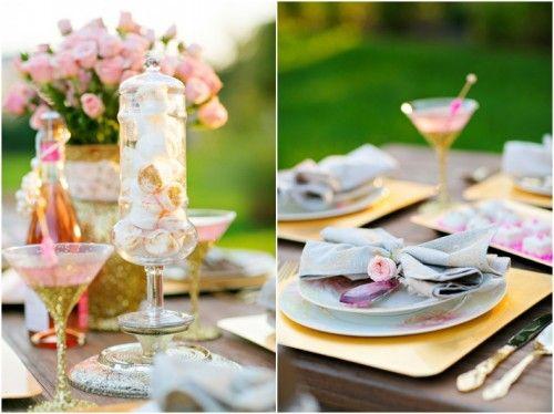 Atractivos Manualidades centros de mesa para boda.¡Bellos!