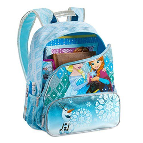Disney Frozen Princess Elsa and Anna School Backpack 16 *** Continue to the product at the image link.