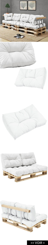 Coussin pour palette o trouver des coussins pour meubles en palette palette pinterest - Trouver des meubles de salon pour vous ...