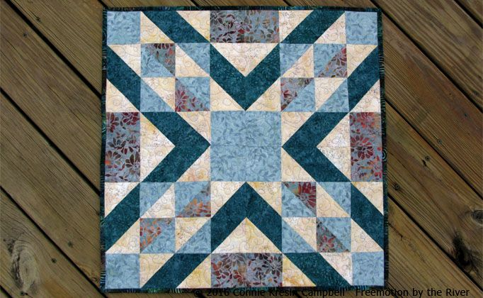 Instead of using the parallelogram, use two half triangles ... : parallelogram quilt pattern - Adamdwight.com
