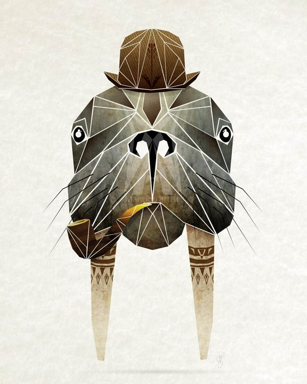 Walrus of Alice in Wonderland || Manoou