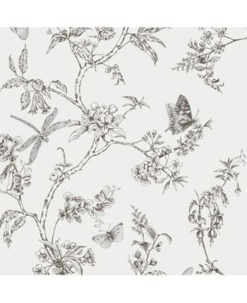 Graham Brown Nature Trail White Mica Wallpaper White Geometric Floral Wallpaper Wallpaper White Wallpaper