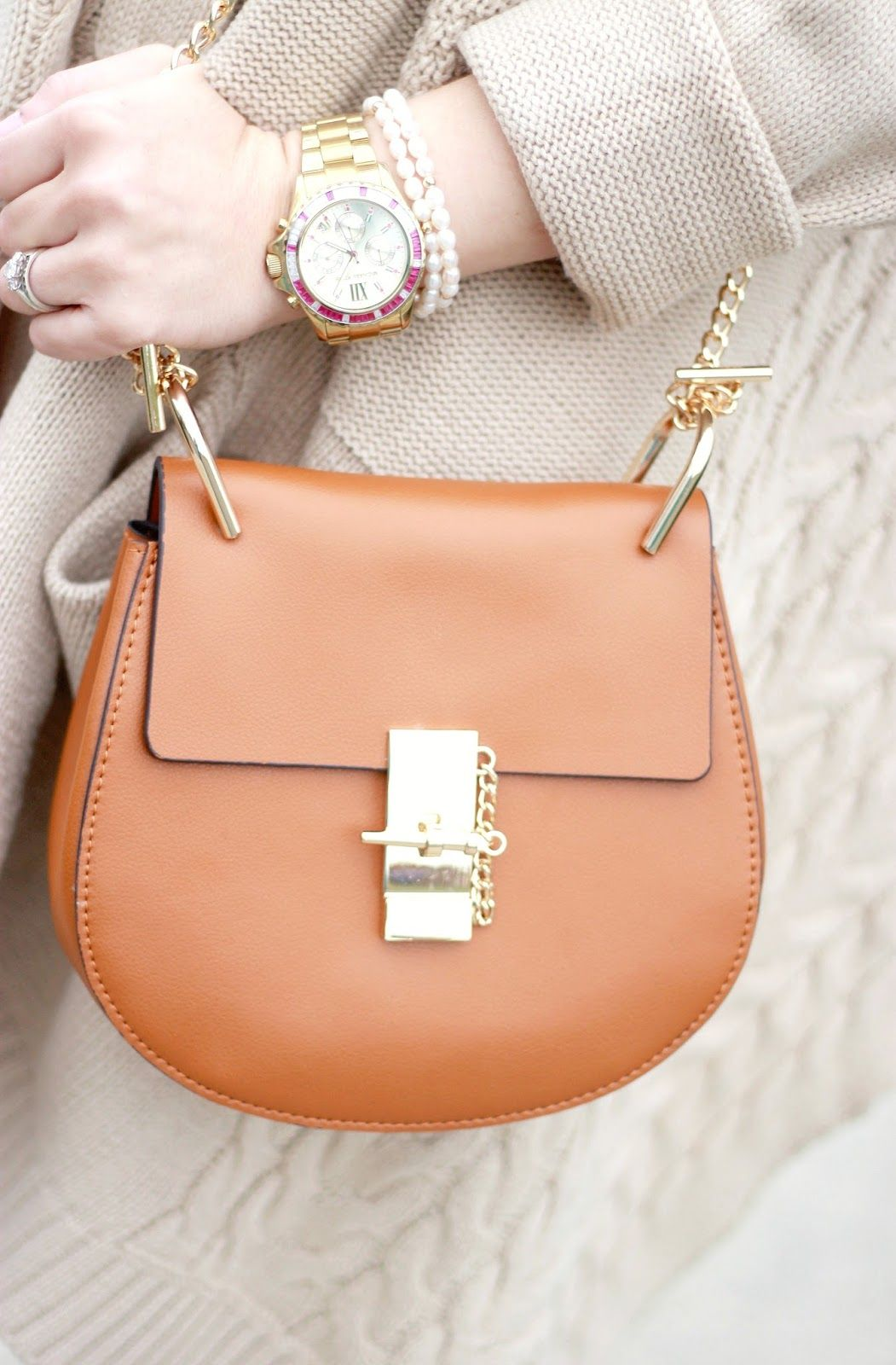 aae1023c99 Cloudy Day Knits Link Up Chloe Drew Bag