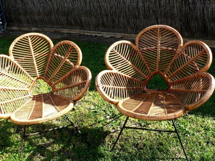 Betty Bunter   Retro Cane Chairs