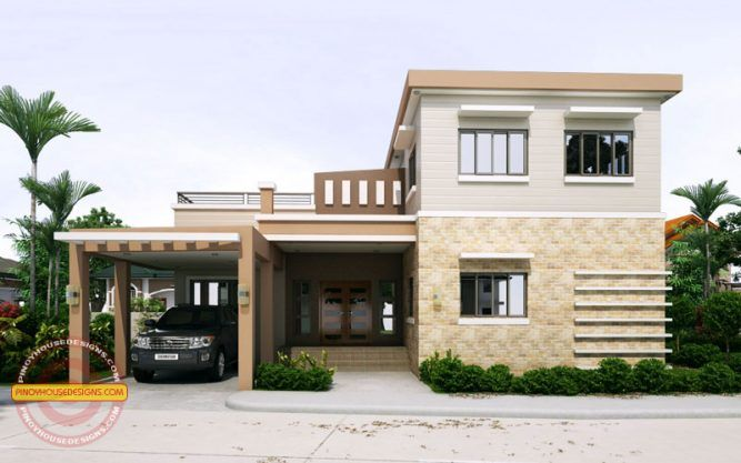 2 Storey Cool House Plan | Small house plans | Pinterest | Small ...