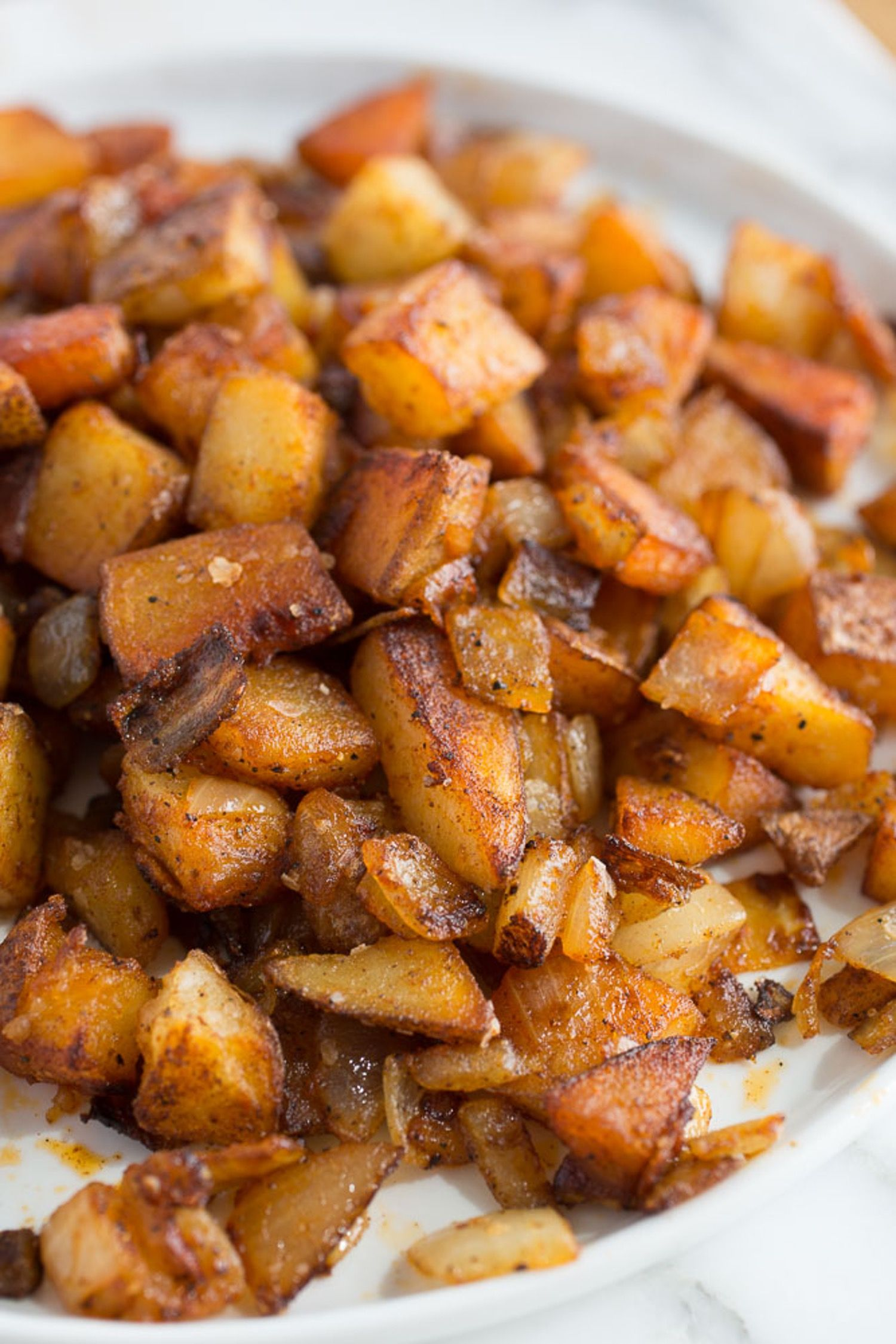 How To Make Home Fries Recipe Fries Diners And Food