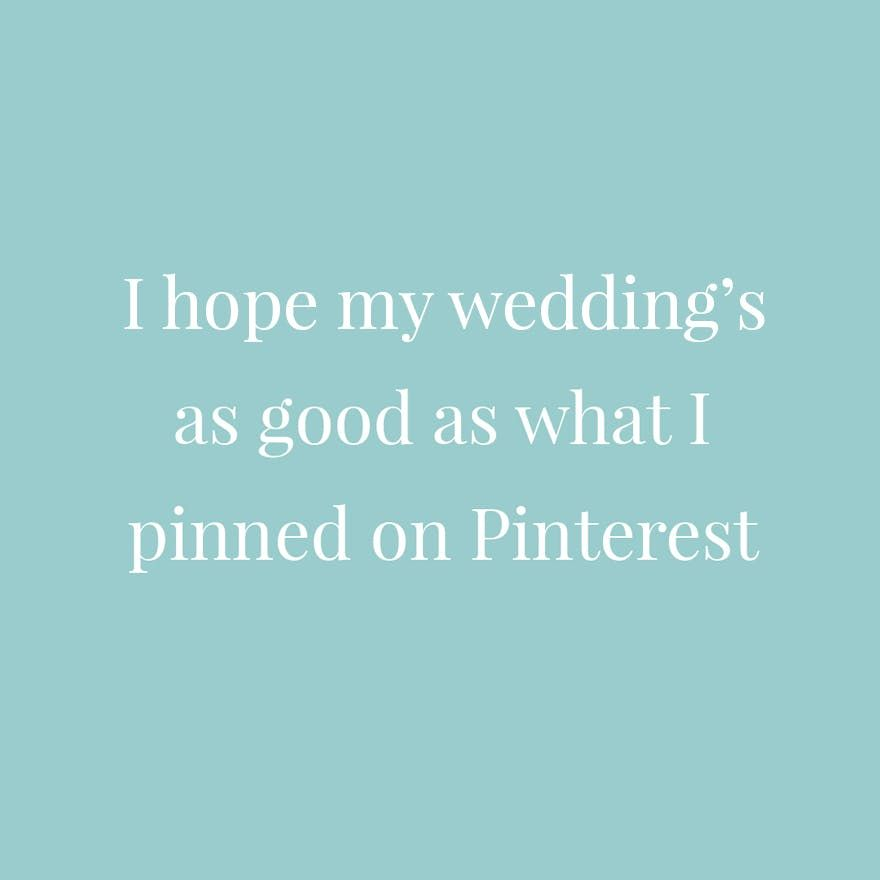 15 Funny Wedding Planning Quotes For The Stressed Out Bride ...