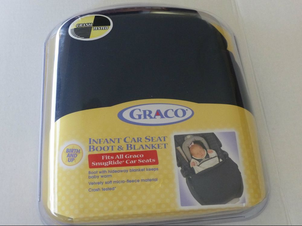 GRACO Infant Car Seat Boot & Blanket Cover Fits SnugRide Car Seats Blue, baby  #Graco FREE Shipping