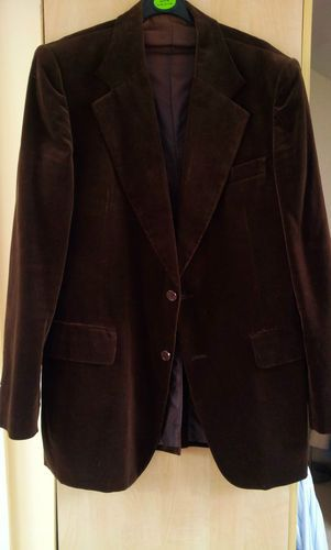 Vintage VELVET SMOKING EVENING Jacket Mens Brown going Cheap from from Only  Top Labels - must f806e1347b