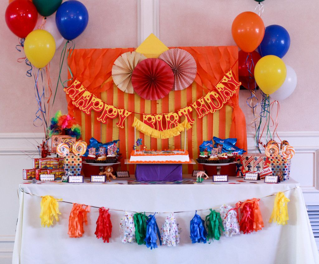 Attractive Project Nursery   Circus Themed Kids Birthday Party   Project Nursery