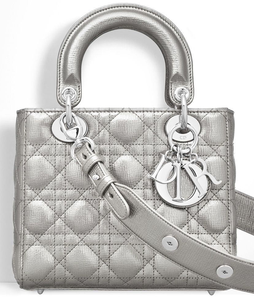 Christian Dior Lady Dior Bag 2017. badges to personalise your shoulder  strap are offered free of charge. c7cd28ee809be