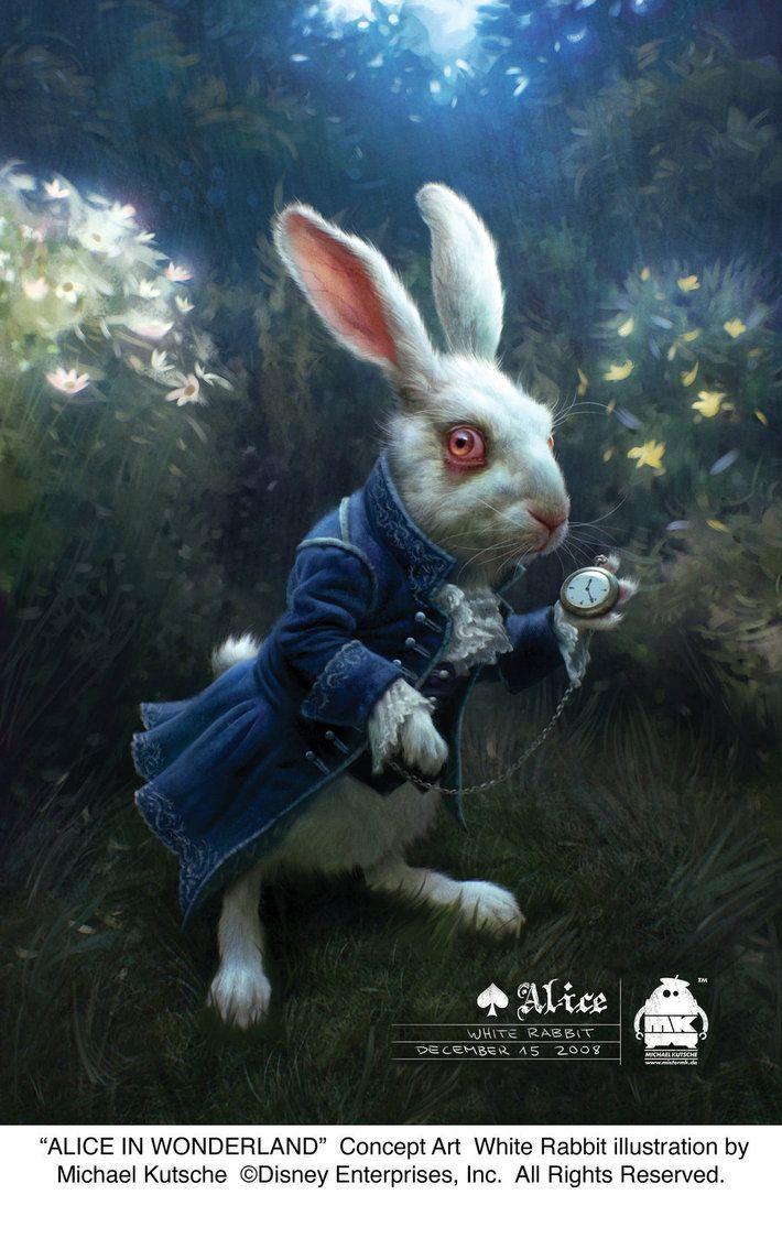 White Rabbit Art The White Rabbit Concept Art By