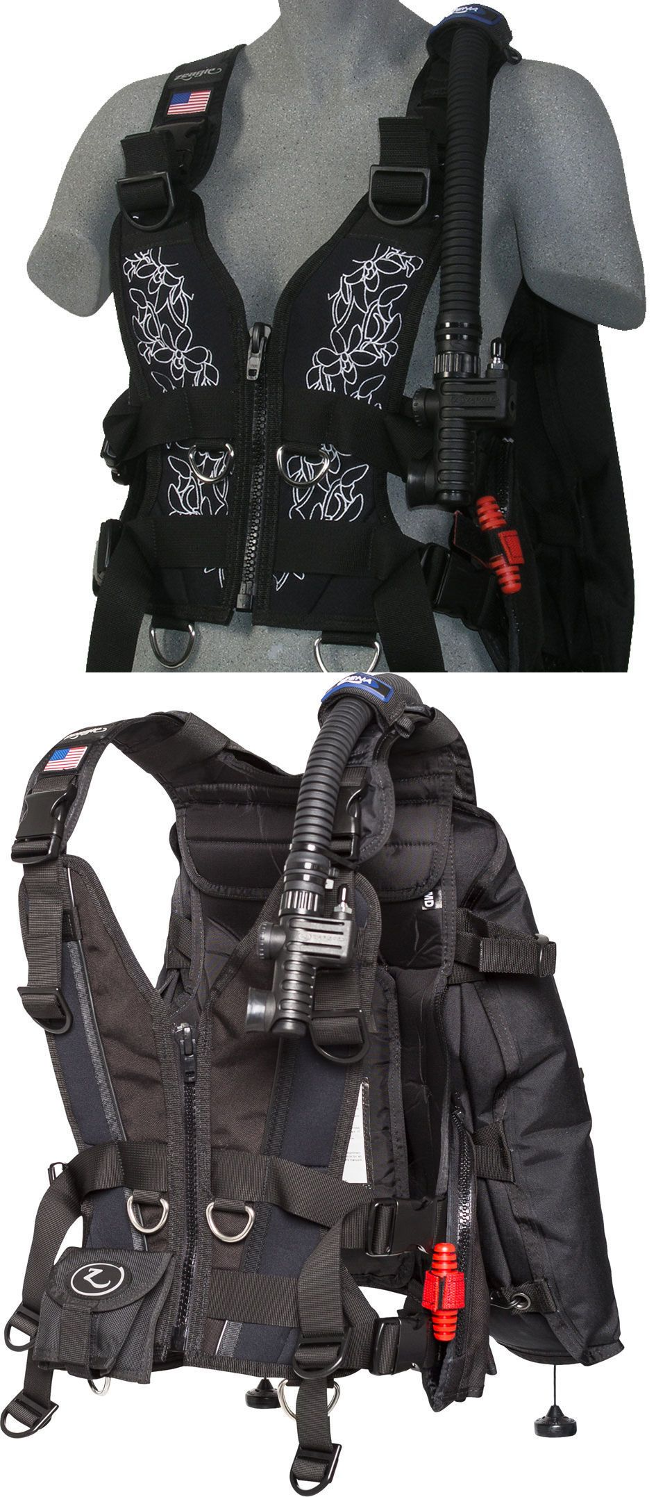 Buoyancy Compensators 16053: Zeagle Womens Scuba Diving Zena Bcd/Bc With Rip Cord System, Small BUY IT NOW ONLY: $588.0