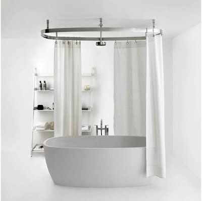 circular shower rail | Interior design | Pinterest | Shower rail ...