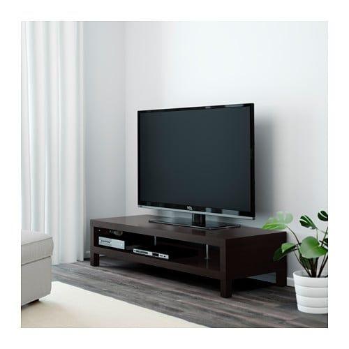Ikea Lack Black Brown Tv Unit Ikea Tv Stand Tv Bench