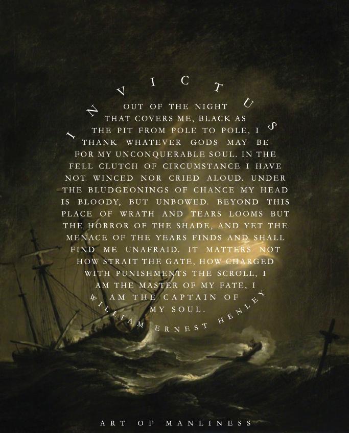 invictus poem background