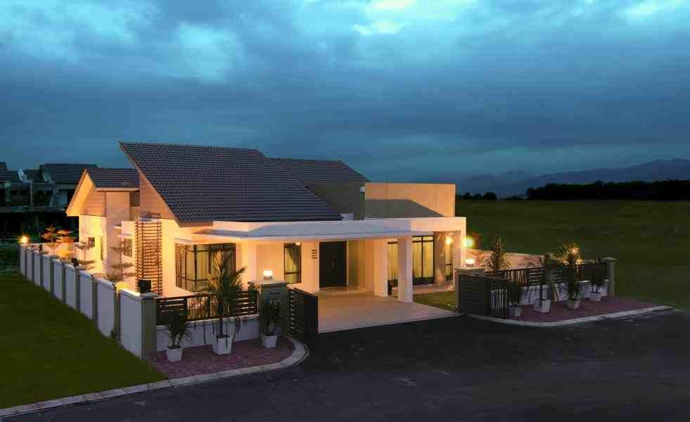 786abea22f861d6b2cff4e68ffc79583 - 46+ Bungalow Single Storey Small Modern House Design Pictures