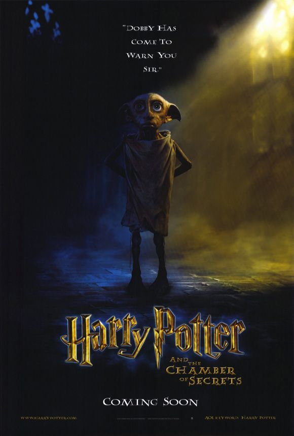 Advanced Teaser Poster Art For The Harry Potter And The Chamber Of Secrets Movie Harry Potter Poster Kammer Des Schreckens Filme