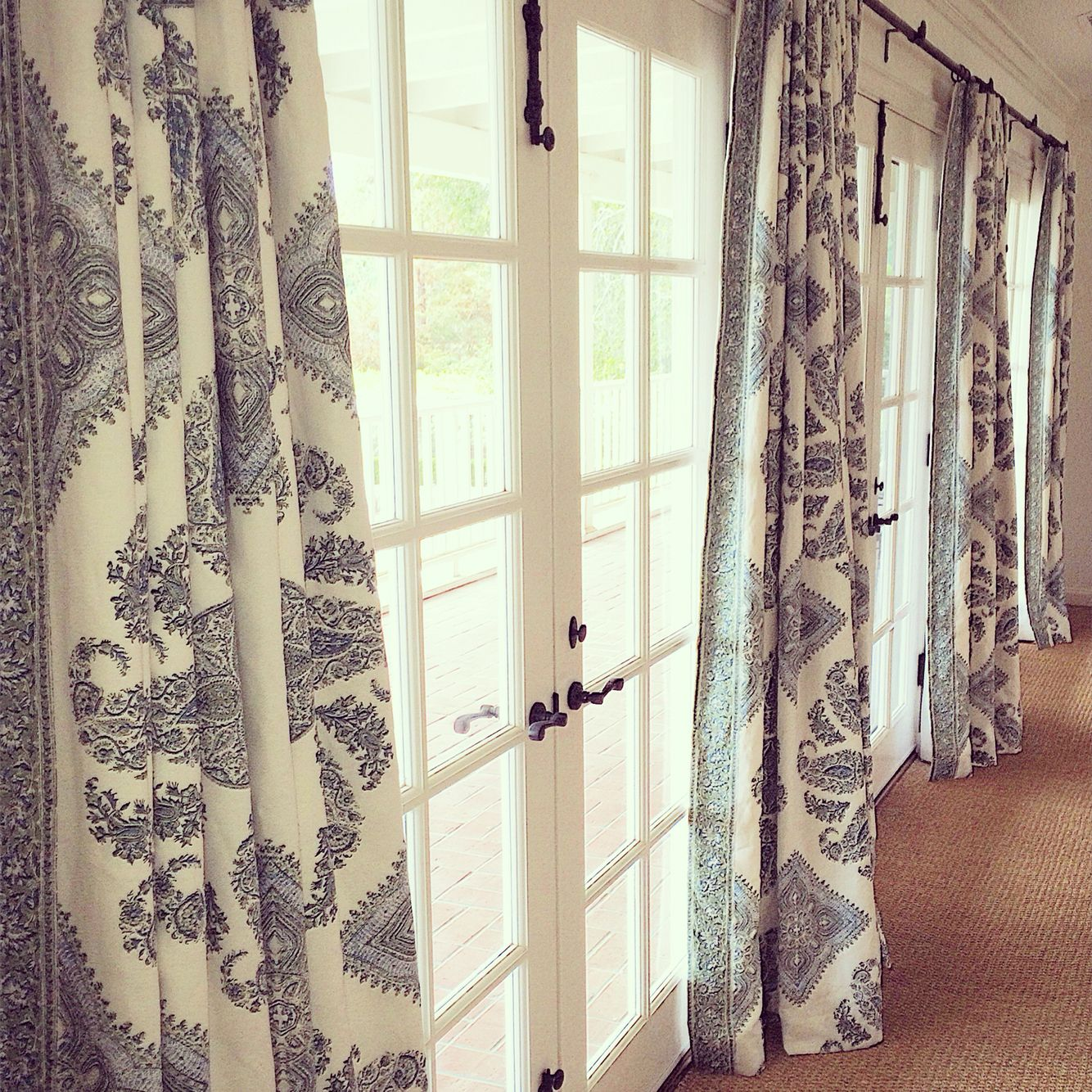 Window Treatments Curtains Drapery French Doors