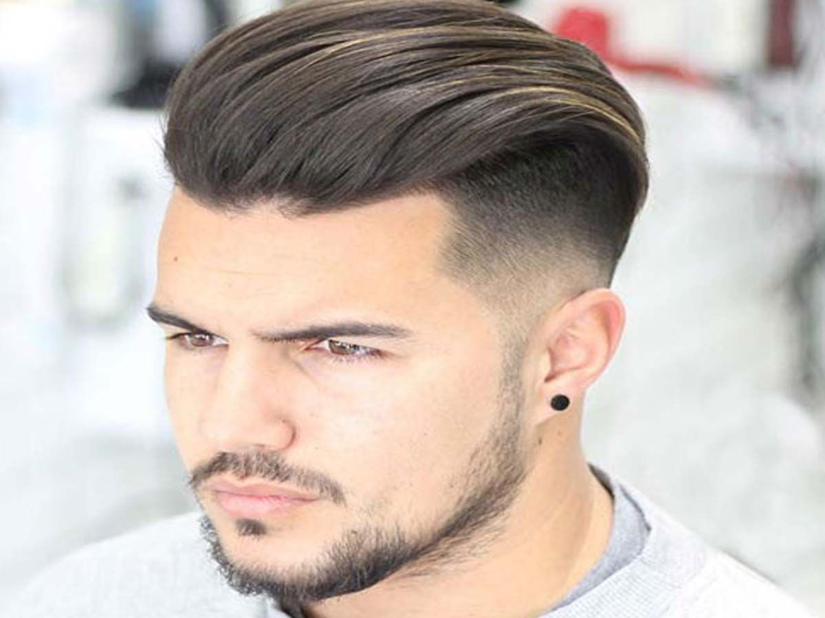 find different type of modern hairstyle for men - when they