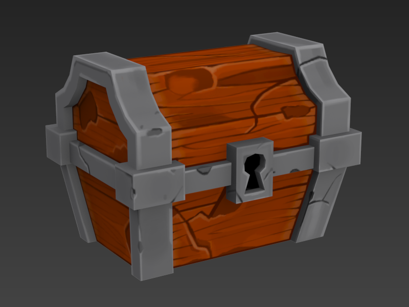 Mark Badoy, Spelunky Chest WIP 4. http://meatfortress.com/