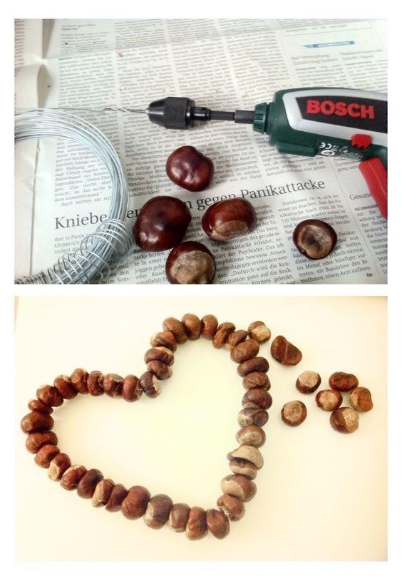acorn-and-chestnut-craft-101ideer-se Autumn Pinterest Craft - acord form