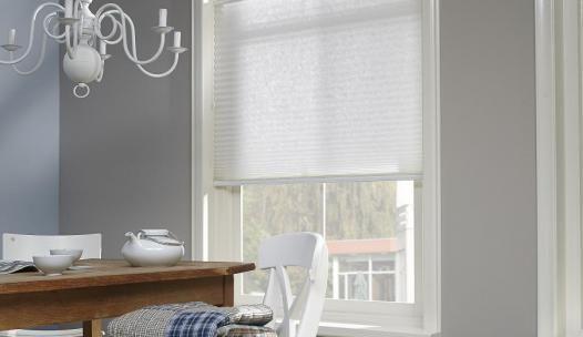 Gordijnen Voor Badkamer : Mooie witte plissé gordijnen voor in uw woon slaap of badkamer
