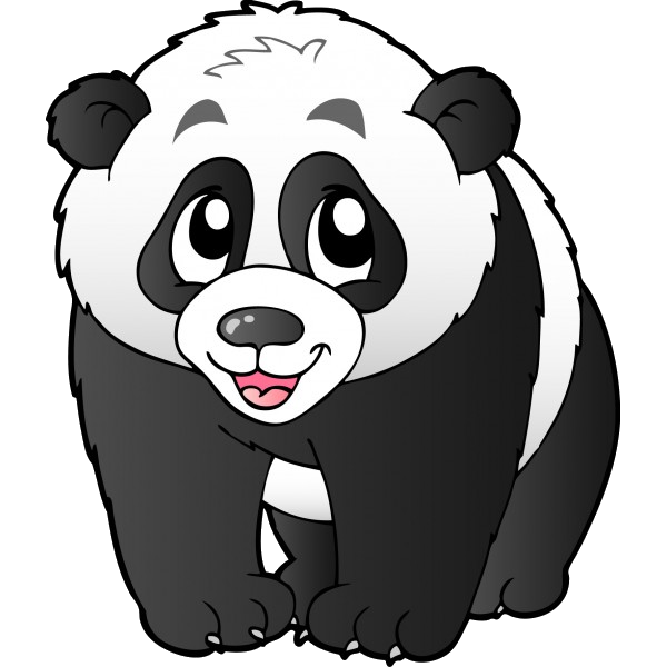 panda bears cartoon animal images free to download all bears clip rh pinterest com panda clipart lent panda clipart pizza