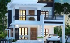 Modern Vintage House Exterior With Two Storey House Designs Perth With Zen Type House Design Bung 2 Storey House Design Kerala House Design Duplex House Design