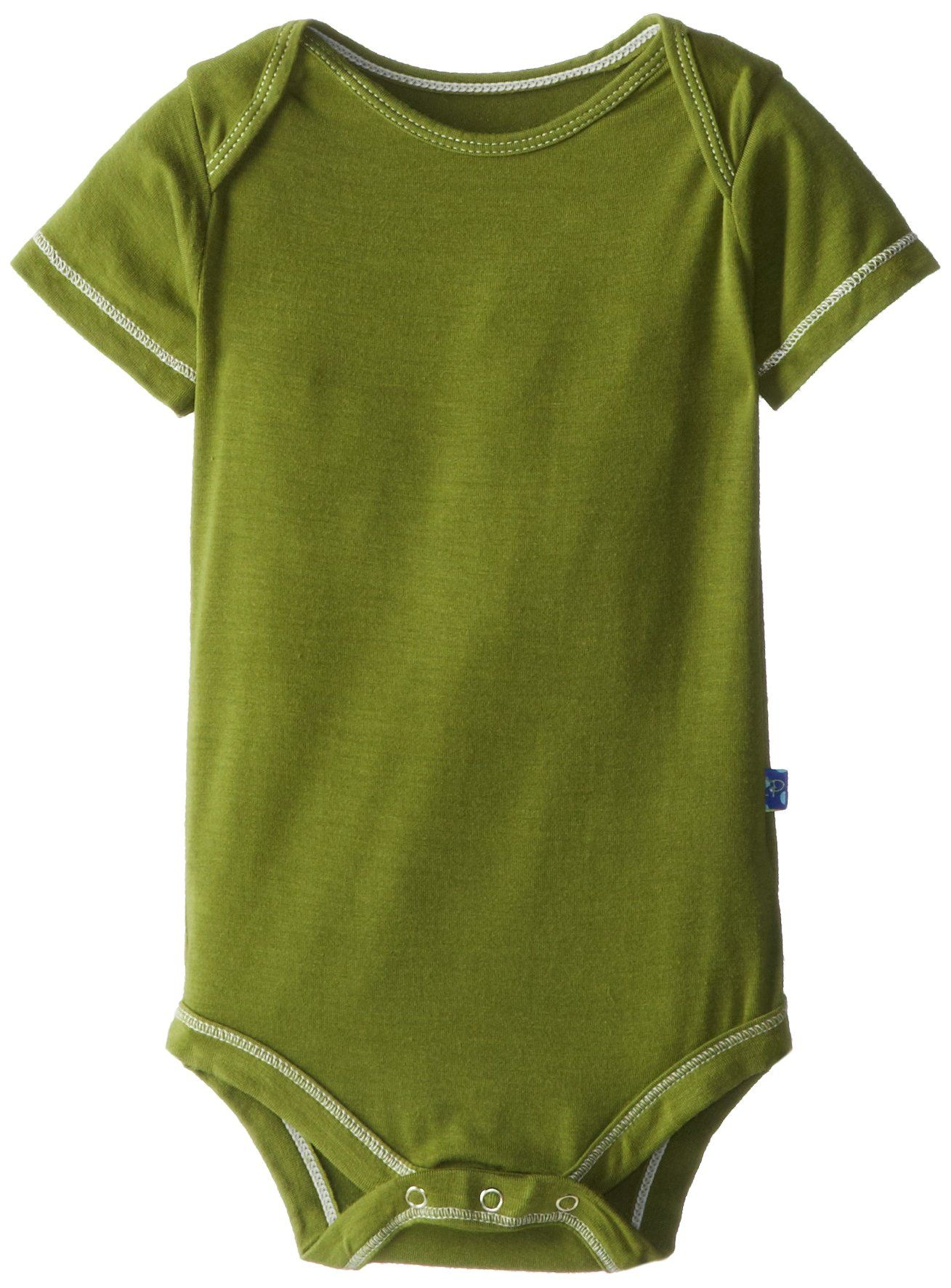 Amazon.com: KicKee Pants Short Sleeved One-Piece, Bark: Infant And Toddler One Pieces: Clothing