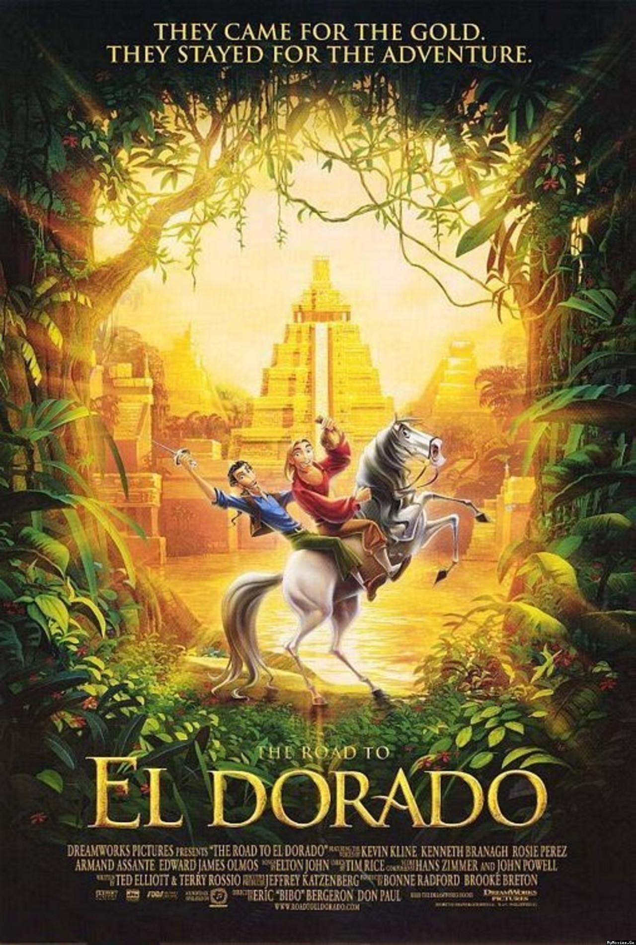The Road to El Dorado Cine de Animación Pinterest El