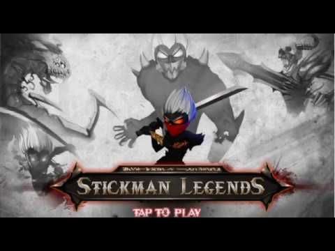 Stickman Legend (unreleased) Gameplay {Stage 1} LVL 1-5 | Upcoming Andro...